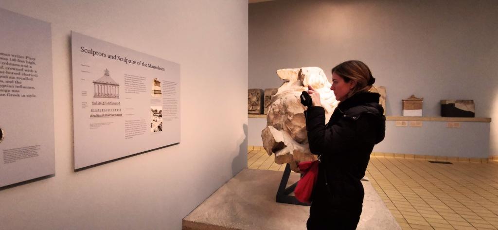 Aude au British Museum